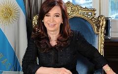 КристинаКиршнер. Фото с сайта casarosada.gov.ar