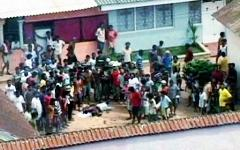 Бунт в тюрьме в Шри-Ланке. Фото с сайта wn.com