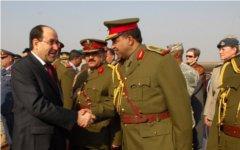 Нури аль-Малики на встрече иракскими военными. Фото с сайта pmo.iq