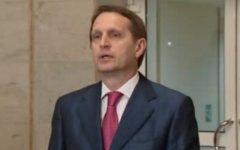 Сергей Нарышкин. Скриншот с видео на сайте duma.gov.ru
