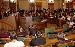 Заседание Сейма. Фото с сайта saeima.lv