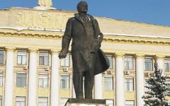 Памятник Ленину на главной площади Липецка. Фото с сайта 4fot.ru
