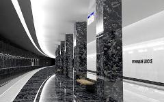 Проект станции «Пятницкое шоссе» с сайта mosmetro.ru