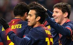 Игроки ФК «Барселона» © РИА Новости, Александр Вильф