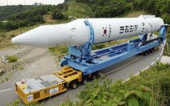 Ракета KSLV-1. Фото с сайта omanobserver.om