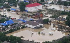 Наводнение в Крымске © РИА Новости, пресс-служба МЧС России
