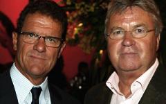 Фабио Капелло и Гус Хиддинк. Фото с сайта newsyour.ru