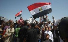 Демонстрация в Египте. Фото с сайта arabianbusiness.com