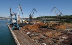 Ванинский морской торговый порт. Фото с сайта vaninoport.ru