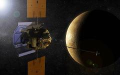 Межпланетная станция «Мессенджер». Изображение с сайта nasa.gov