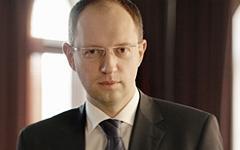 Арсений Яценюк. Фото Александра Мардерера с сайта wikipedia.org