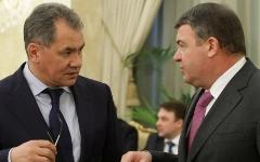 Сергей Шойгу и Анатолий Сердюков © РИА Новости, Алексей Никольский