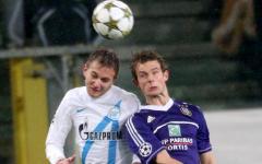 Матч «Зенит»-«Андерлехт». Фото с сайта fc-zenit.ru