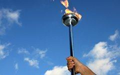 Олимпийский огонь. Фото с сайта tes.co.uk