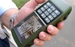 ГЛОНАСС навигатор. Кадр из видео на YouTube
