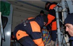 Спасатели на месте крушения «Амурской». Фото с сайта mchs.gov.ru