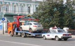 Эвакуация автомобиля. Фото с сайта raceclub.ru