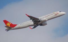 Самолет компании Tianjin Airlines. Фото с сайта embjets.net
