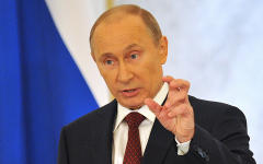 Владимир Путин © РИА Новости, Алексей Куденко