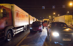 Пробка на трассе М-10 © РИА Новости, Юрий Сурин