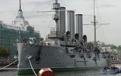 Крейсер «Аврора». Фото с сайта wikipedia.org