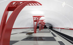 Проект станции метро «Алма-Атинская». Фото с сайта mosmetro.ru