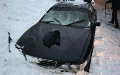 Автомобиль Сергея Батенева © РИА Новости