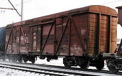 Товарный вагон. Фото с сайта wikipedia.org