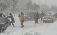 Снежная буря в США. Фото с сайта seerpress.com