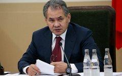 Сергей шойгу. Фото с официального сайта Минобороны