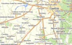 Скриншот с «Яндекс.Карты»