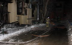 Сгоревшее кафе «Белладжио». Фото с v1.ru