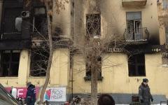 Сгоревшее «Белладжио». Фото пользователя «Твиттер» @Manseer