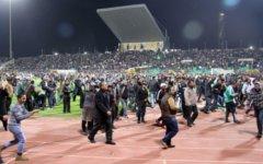 Беспорядки на стадионе в Порт-Саиде. Фото с mn.ru