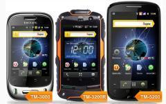 teXet вышла на рынок смартфонов