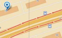 Место происшествия. Изображение с сервиса «Яндекс.Карты»