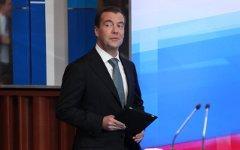 Президент России Дмитрий Медведев. Фото KM.RU
