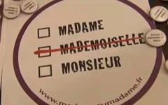 Обращение «мадемуазель» официально запрещено