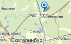 Место аварии. Изображение с «Яндекс.Карты»