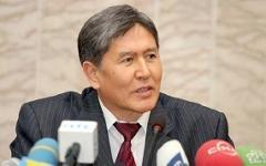 Президент Киргизии Алмазбек Атамбаев, фото gorod48.ru