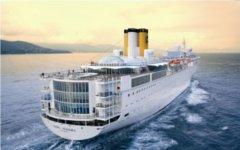 Круизный лайнер Costa Allegra. Фото AP