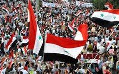 Акции протеста в Сирии. Фото с сайта aljazeera.net