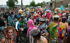 Голый велопробег. Фото с сайта wordpress.com