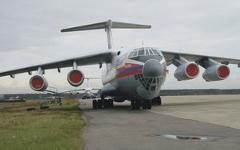 Ил-76 МЧС РФ. Фото: aex.ru