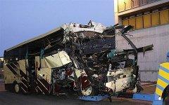 Водитель разбившегося в Швейцарии автобуса был трезв; фото с obozrevatel.com