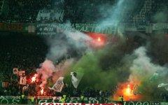 Фанаты ФК «Панатинаикос». Фото с сайта soccer.ru