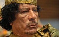 Муаммар Каддафи. Фото с сайта hybriddiplomacy.wordpress.com