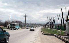 Улица Муталиева в Назрани. Фото с сайта angusht.com