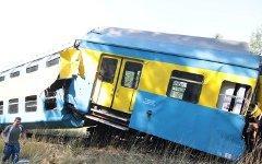 Столкновение поездов в Польше. Фото с сайта funkys.ru