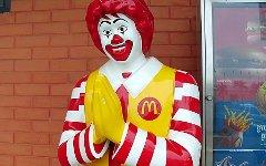 Ronald McDonald; фото взято с decanter.com